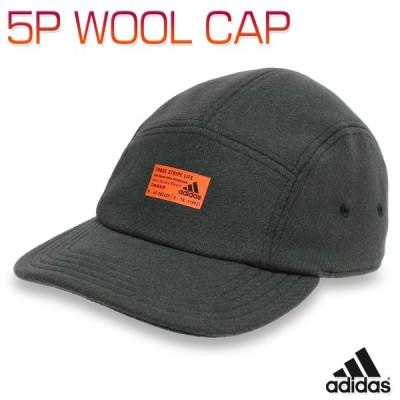 アディダス キャップ 帽子 フラットキャップ ブリムキャップ ウール 親子お揃い メンズ レディース キッズ 子供 ジュニア 男女兼用/5P WOOL CAP IRJ09
