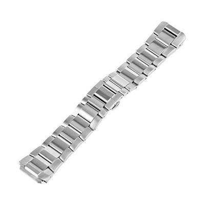 Philip Stein 3-SS 22mm Stainless Steel Silver Watch Bracelet 並行輸入品