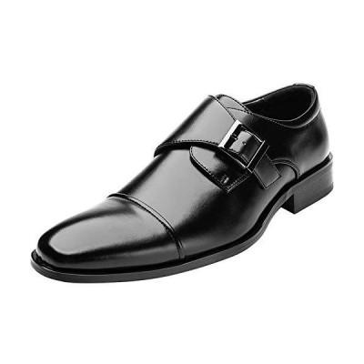 [todaysunny] ビジネスシューズ メンズ 革靴 本革 レザー モンクストラッ 紳士靴 ストレートチップ 内羽根 フォーマル ドレスシューズ