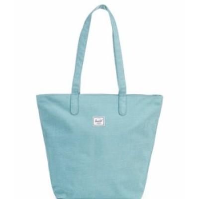 ハーシェルサプライ レディース トートバッグ バッグ Mica Tote Bag Oil Blue Crosshatch