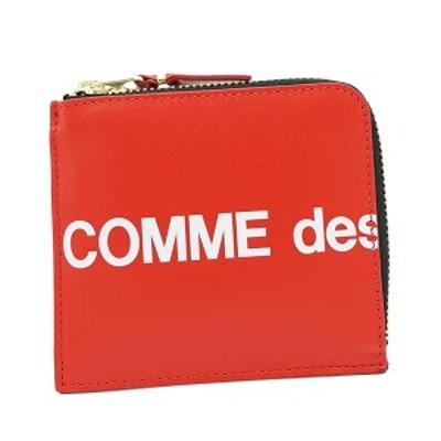 ◎◎コムデギャルソン 財布 小銭入れ COMME DES GARCONS HUGE LOGO SA3100HL   RED  比較対照価格17,820 円