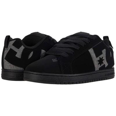 ディーシーシュー Court Graffik メンズ スニーカー 靴 シューズ Black/Heather Grey