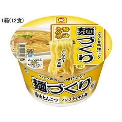 東洋水産/麺づくり 醤油とんこつ 89g×12食