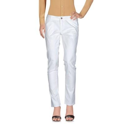 サンシックスティエイト SUN 68 パンツ ホワイト 28 コットン 98% / ポリウレタン 2% パンツ