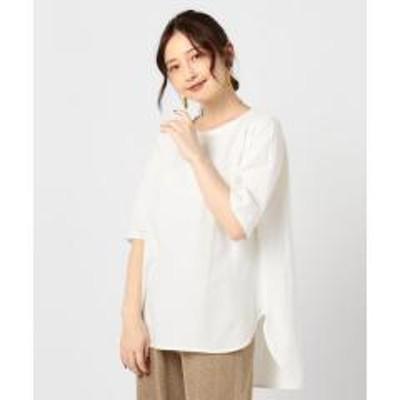 ノーリーズ強撚天竺ラウンドテールTシャツ【お取り寄せ商品】