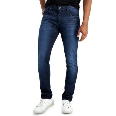 アイエヌシーインターナショナルコンセプト デニムパンツ ボトムス メンズ INC Men's Skinny Jeans,  Dark Wash