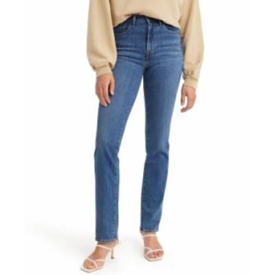 リーバイス レディース デニムパンツ ボトムス Women's 724 Straight-Leg Jeans in Short Length Chelsea Pier