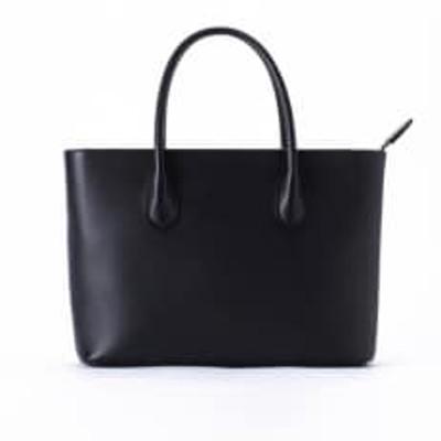 豊岡鞄 セミフォーマルトート TOTTE (ブラック)