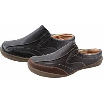 (B倉庫)M-THREE エムスリー 2057 メンズサンダル クロッグ シューズ サボ カジュアル サンダル 靴 送料無料