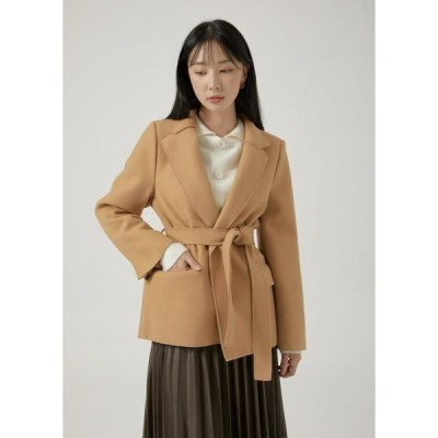 TWEE レディース コート Mono single wrap coat