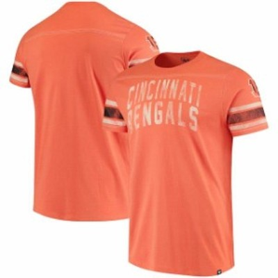 47 フォーティーセブン スポーツ用品  47 Cincinnati Bengals Orange Title T-Shirt