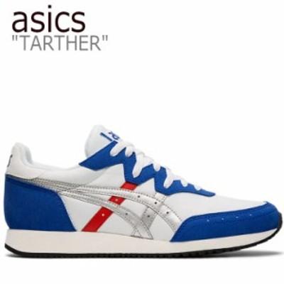 アシックス スニーカー asics メンズ TARTHER OG ターサー OG WHITE ホワイト BLUE ブルー 1191A211-101 シューズ