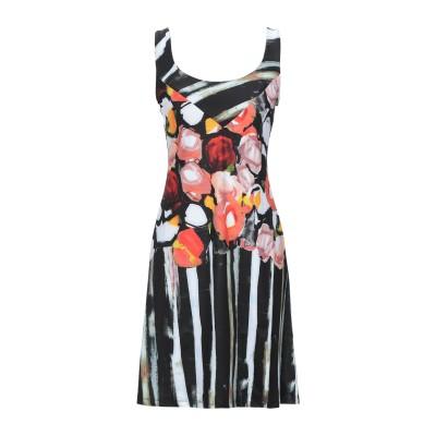 SAVE THE QUEEN ミニワンピース&ドレス ブラック XS ポリエステル 85% / ポリウレタン 15% ミニワンピース&ドレス