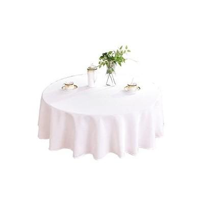 特別価格HIGHFLY リネンラウンドテーブルクロス 60インチ 防水 汚れにくい 天然テーブルクロス ダイニングルーム好評販売中