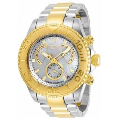 腕時計 インヴィクタ メンズ Invicta Pro Diver Perpetual Chronograph Quartz Men's Watch 29963
