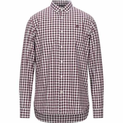 ティンバーランド TIMBERLAND メンズ シャツ トップス Checked Shirt Maroon