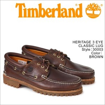 ティンバーランド Timberland デッキシューズ メンズ HERITAGE 3 EYE CLASSIC LUG 30003