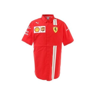 プーマ(PUMA) フェラーリ チーム 半袖ポロシャツ 763034 02 RED (メンズ)