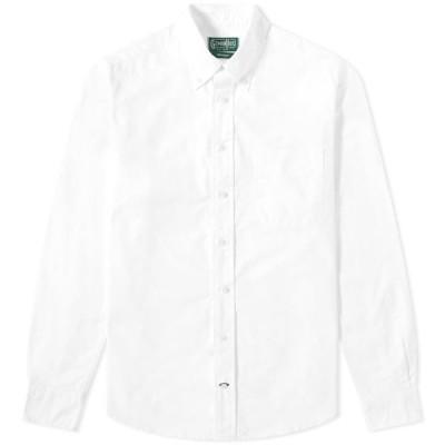 ギットマンヴィンテージ Gitman Vintage メンズ シャツ トップス Oxford Shirt White