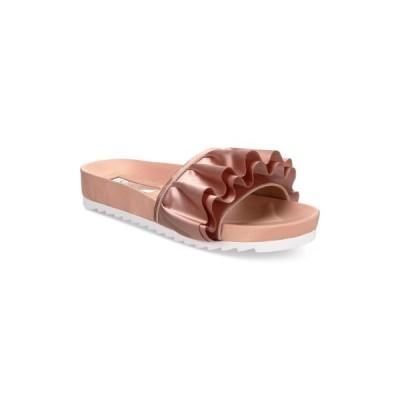 レディース 靴 サンダル INC International Concepts Womens Abena Fabric Open Toe Casual Slide Sandals