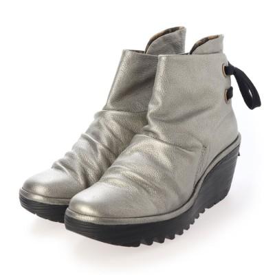 ヨーロッパコンフォートシューズ EU Comfort Shoes ショートブーツ (グレー)