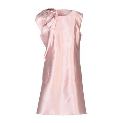 URIC ミニワンピース&ドレス ピンク 48 ポリエステル 77% / シルク 23% ミニワンピース&ドレス
