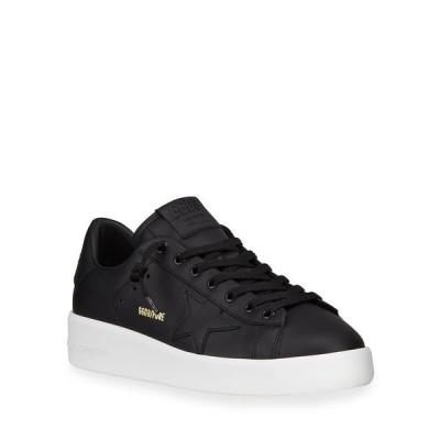 ゴールデングース メンズ スニーカー シューズ Men's Pure Star Leather Sneakers