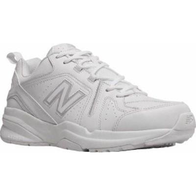 ニューバランス メンズ スニーカー シューズ Men's New Balance 608v5 Trainer White/White