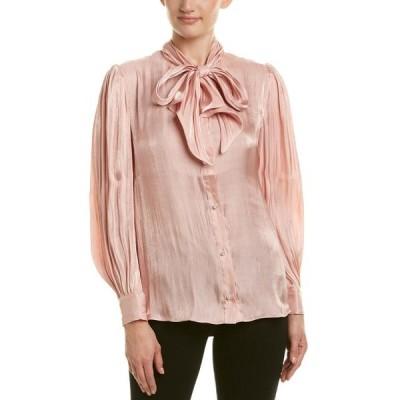 レディース 衣類 トップス Endless Rose womens Pearl Button Up Blouse ブラウス&シャツ