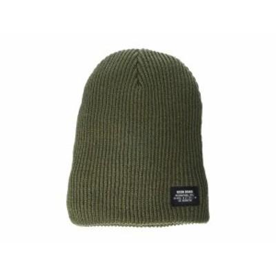 ニクソン メンズ 帽子 アクセサリー Compass R Beanie Olive
