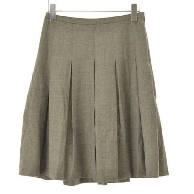 BURBERRY LONDON / バーバリーロンドン ウールラメタック スカート