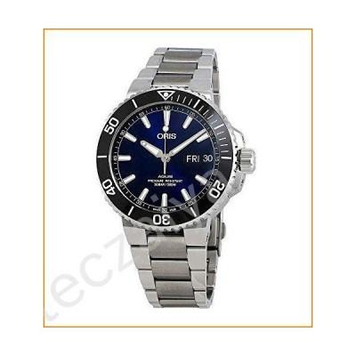 Oris Aquis Big Day Date Blue Dial Men's Watch 75277334135MB並行輸入品