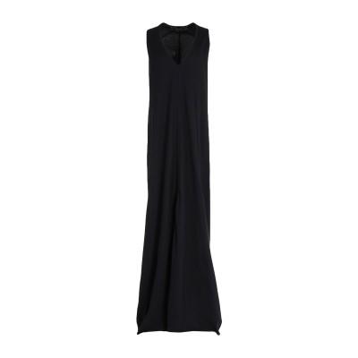 フェデリカ・トシ FEDERICA TOSI ロングワンピース&ドレス ブラック 44 コットン 100% ロングワンピース&ドレス