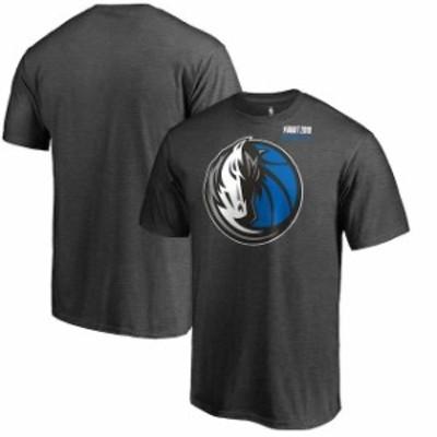 Fanatics Branded ファナティクス ブランド スポーツ用品  Fanatics Branded Dallas Mavericks Heather Gray 2018 NBA Draft BKLYN T-Shi