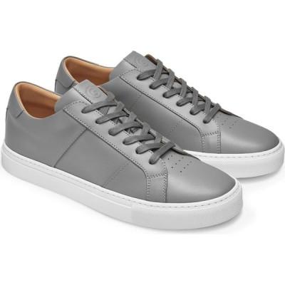 グレイツ GREATS メンズ スニーカー シューズ・靴 Royale Sneaker Ash Grey Leather