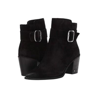 サム エデルマン Leonia レディース ブーツ Black Velutto Suede Leather