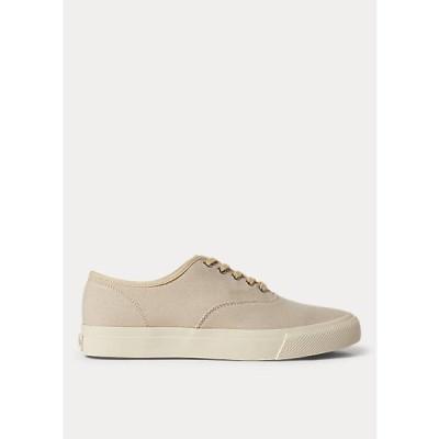ラルフローレン メンズ RRL Ralph Lauren New Norfolk Canvas Sneaker スニーカー Greige