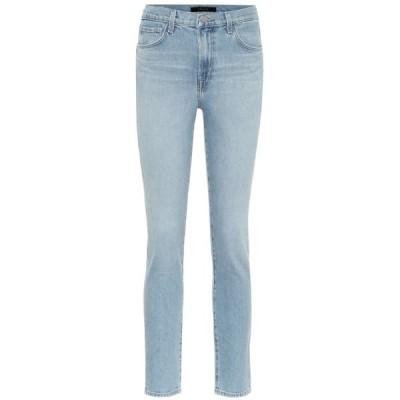 ジェイ ブランド J Brand レディース ジーンズ・デニム クロップド ボトムス・パンツ Ruby cropped high-rise skinny jeans Marcella