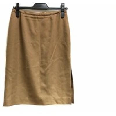 アルマーニコレッツォーニ ARMANICOLLEZIONI スカート サイズ40 M レディース ブラウン【中古】20200330