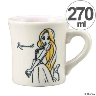 マグカップ 270ml ラプンツェル コップ マグ 磁器 日本製 キャラクター ( 食器 食洗機対応 電子レンジ対応 プリンセス ディズニー )