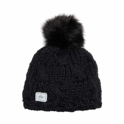 タートルファー Turtle Fur レディース ニット 帽子 Merino Wool Amelia Black