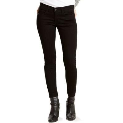 リーバイス レディース デニムパンツ ボトムス Women's 710 Super Skinny Jeans in Short Length