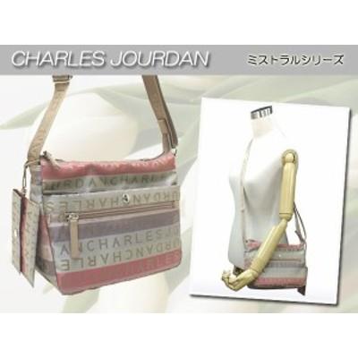 【送料無料】CHARLES JOURDAN(シャルルジョルダン)ミストラル カード入れ付き ショルダーバッグ 7263