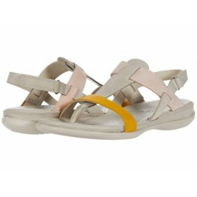 ECCO エコー レディース 女性用 シューズ 靴 サンダル Flash T-Strap Sandal Merigold/Gravel/Rose Dust Cow Nubuck/Cow【送料無料】