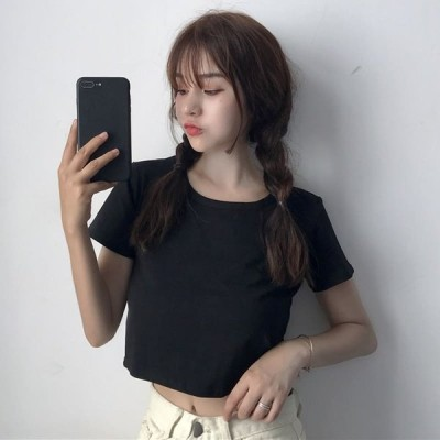 高校生 中学生 ファッション トップス レディース 半袖 夏 Tシャツ かわいい 韓国 10代 20代 30代 6264