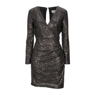 KAOS JEANS ミニワンピース&ドレス ブロンズ 40 ポリエステル 100% ミニワンピース&ドレス