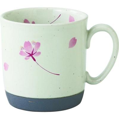 西海陶器 桜の舞 マグ 桃 66419 波佐見焼