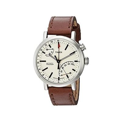 Timex (タイメックス) メトロポリタン+ アクティビティトラッカースマートウォッチ One Size ブラウン/タン