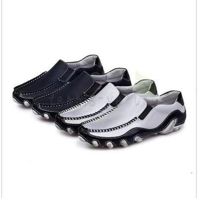 新作ローファー スリッポンドライビング シューズ ビジネスシューズ レザー 本革 ウォーキングシューズ メンズ靴 ビジネス フォーマル 紳士靴 靴 革靴