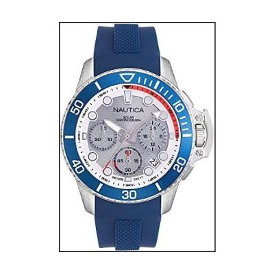 Nautica Watch NAPBSC905 Bayside Chrono Solar 24 Hour Time, Calendar, Blue[並行輸入品]